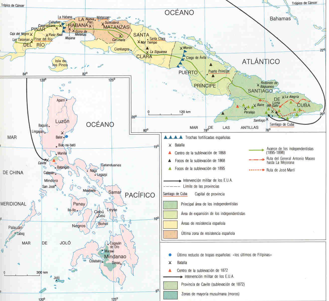 El Viaje De La Historia: La Guerra De Cuba