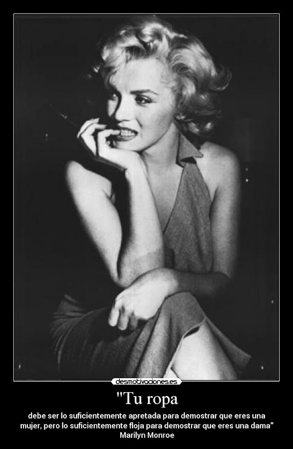 Frases de Marylyn Monroe