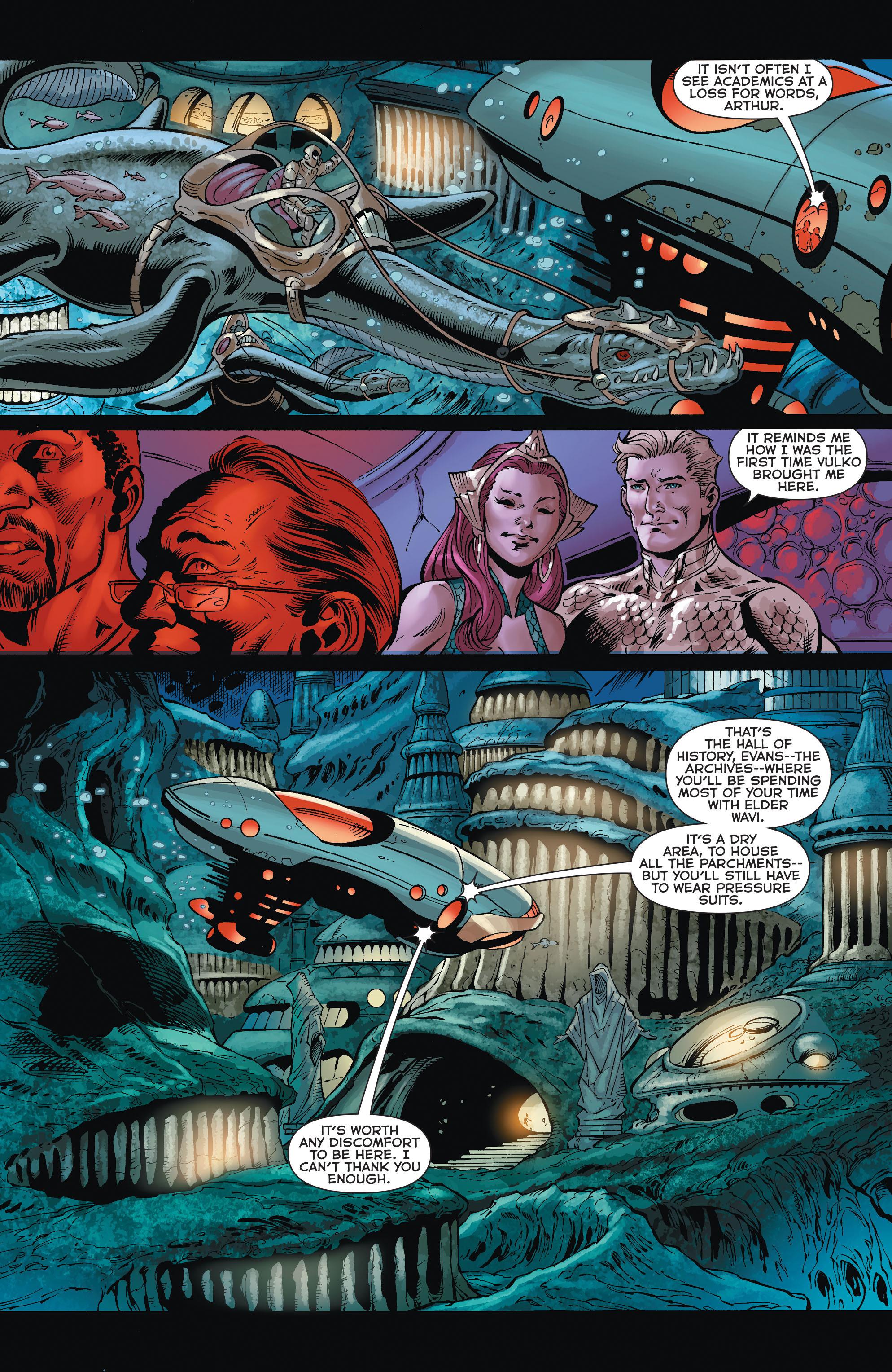 Read online Aquaman (2011) comic -  Issue #35 - 8