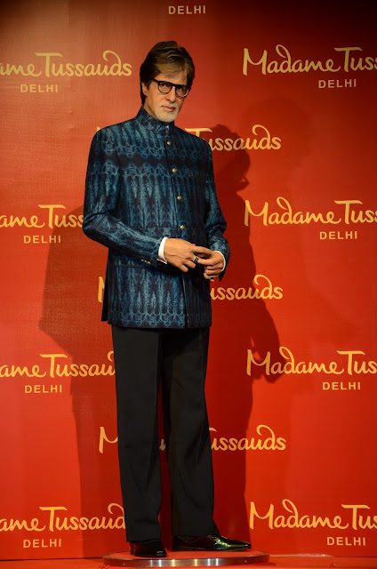 Wax Figure of Amitabh Bachchan