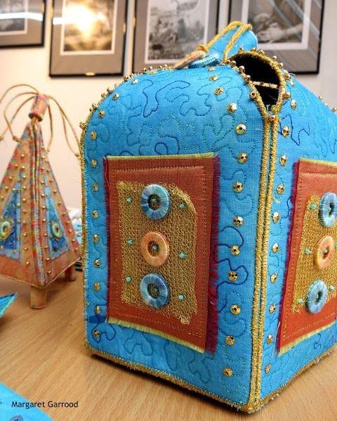 pudełeczka textylne