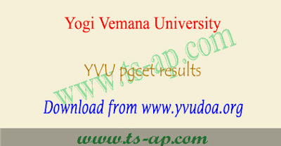 YVUCET results 2019-2020 date Manabadi
