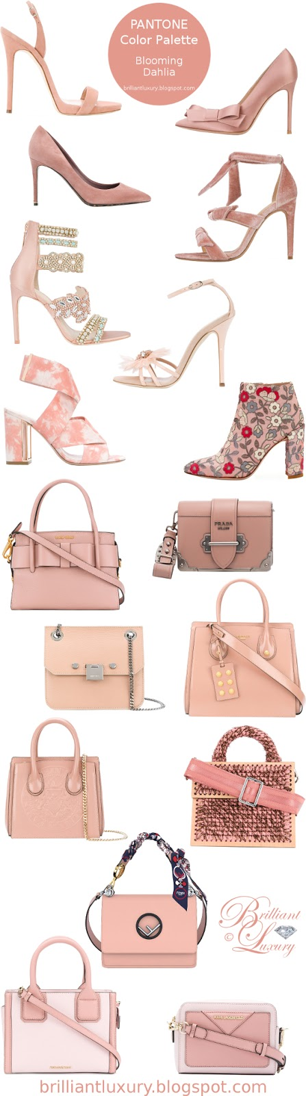 Brilliant Luxury ♦ Pantone Fashion Color ~ blooming dahlia