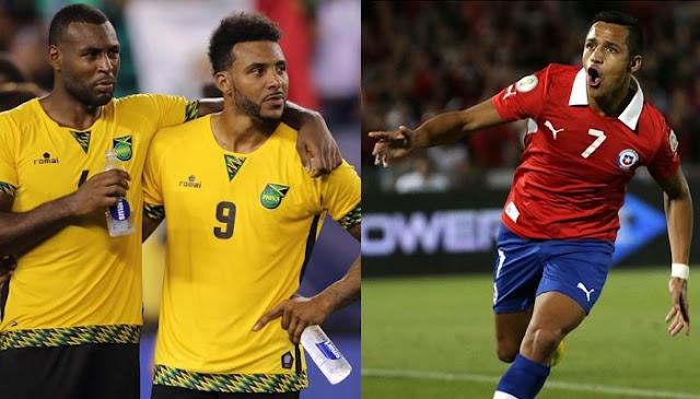 Chile vs Jamaica en vivo