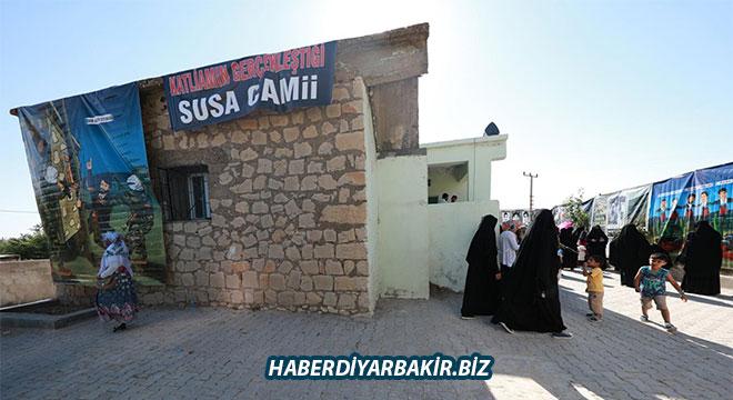 Susa Şehitliği ve katliamın gerçekleştiği camiye yoğun ziyaret