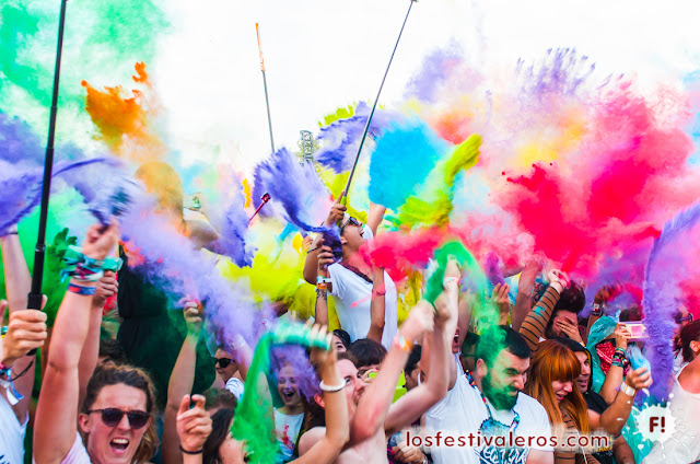 Sziget 2016, Color Party