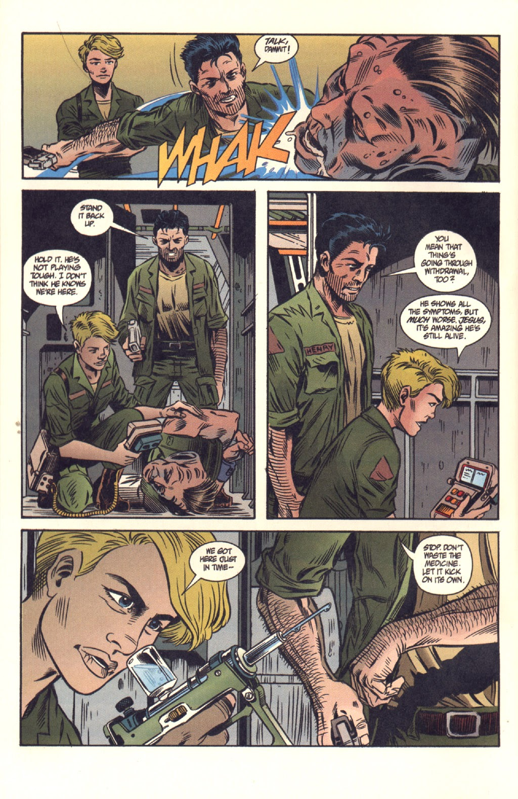 Read online Aliens: Colonial Marines comic -  Issue #8 - 14