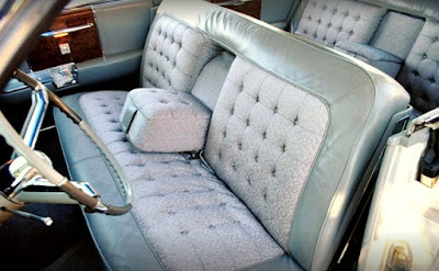 1962 Cadillac Fleetwood Sixty Seat Front
