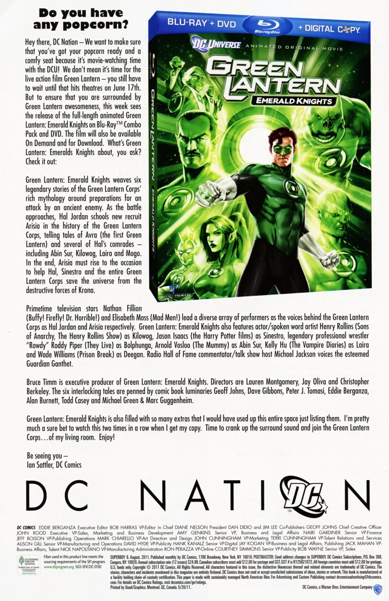 Superboy [I] Issue #8 #8 - English 45