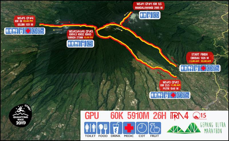 Gede Pangrango Ultra Marathon • 27-28 April 2019