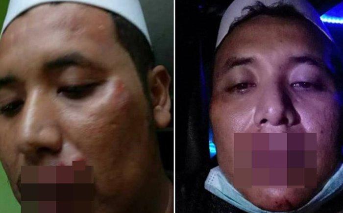Ketua FPI Bogor Dihajar Warga - Facebook
