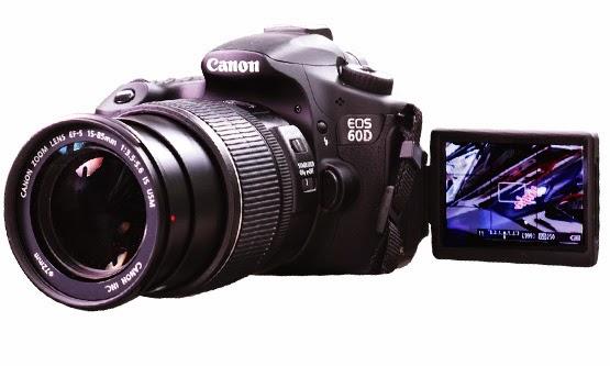 Harga Camera DSLR Canon 60D dan Spesifikasi Lengkap Terbaru