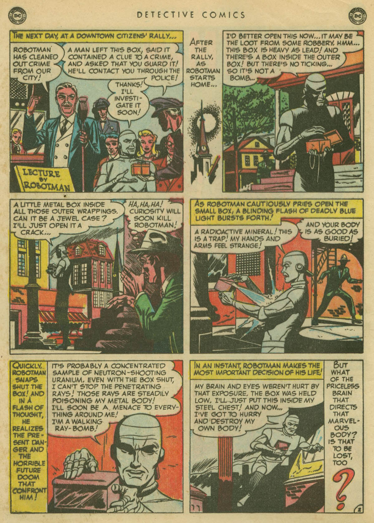 Read online Detective Comics (1937) comic -  Issue #167 - 28