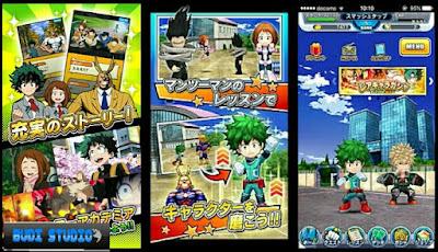 Update kali ini saya bagikan game agresi pertarungan terbaru  Download My Hero Academia Smash Tap Mod Apk Terbaru