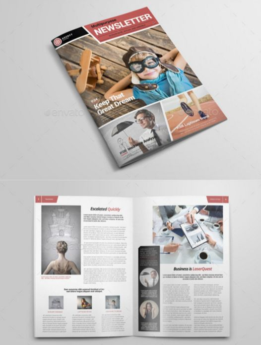 72. Newsletter Template