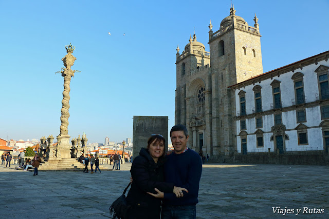 Catedral y pelourinho, Oporto