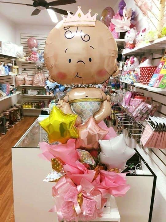 Mesa De Baby Shower.Emily S Party Designs Baby Shower Centerpieces Centros De