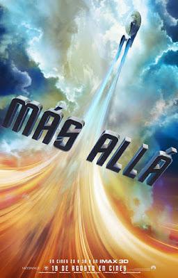 Póster en español de 'Star Trek: Más allá'