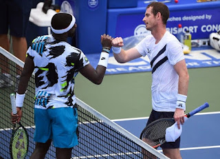 Andy Murray wins 1st match at Western and Southern Open