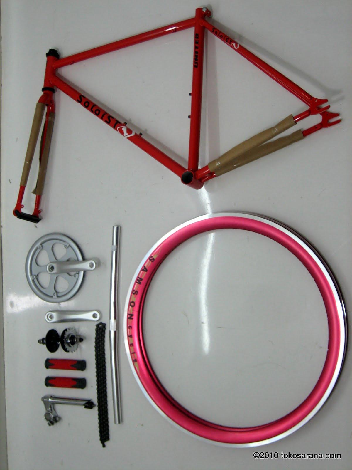 Cara Merakit sepeda Fixie   Ferry Nurdiansyah