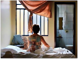 Pela Janela - Rosália (Magali Biff) no Hotel de Foz do Iguaçu