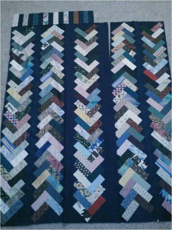 12 Quilts Pioneer Braid Is Quilted