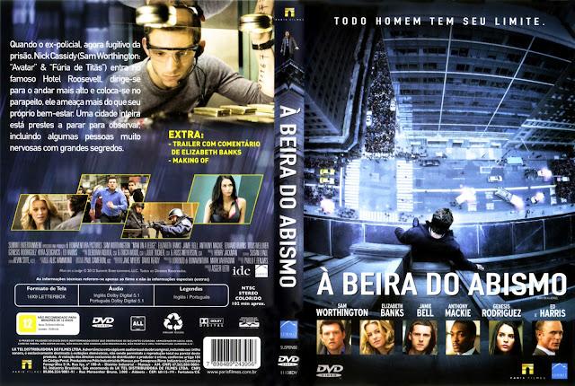 Capa DVD À Beira do Abismo