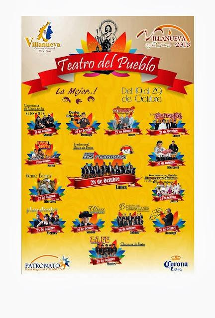 FEREVI 2013 programa teatro del pueblo