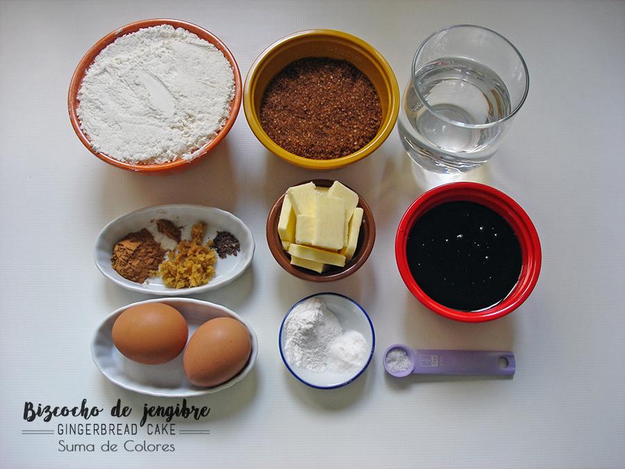 Ginger-cake-ingredientes