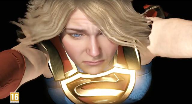 Supergirl se luce en el nuevo trailer de Injustice 2