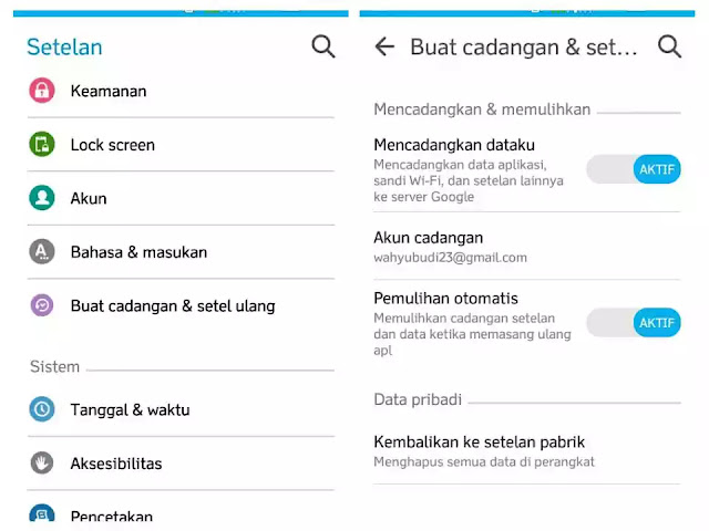 Cara Reset Hp Samsung Galaxy V Plus