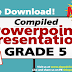 Grade 5 - POWERPOINT PRESENTATION LESSONS (Updated)