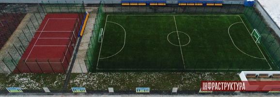 На «Ширлані» завершили будівництво спортоб'єктів