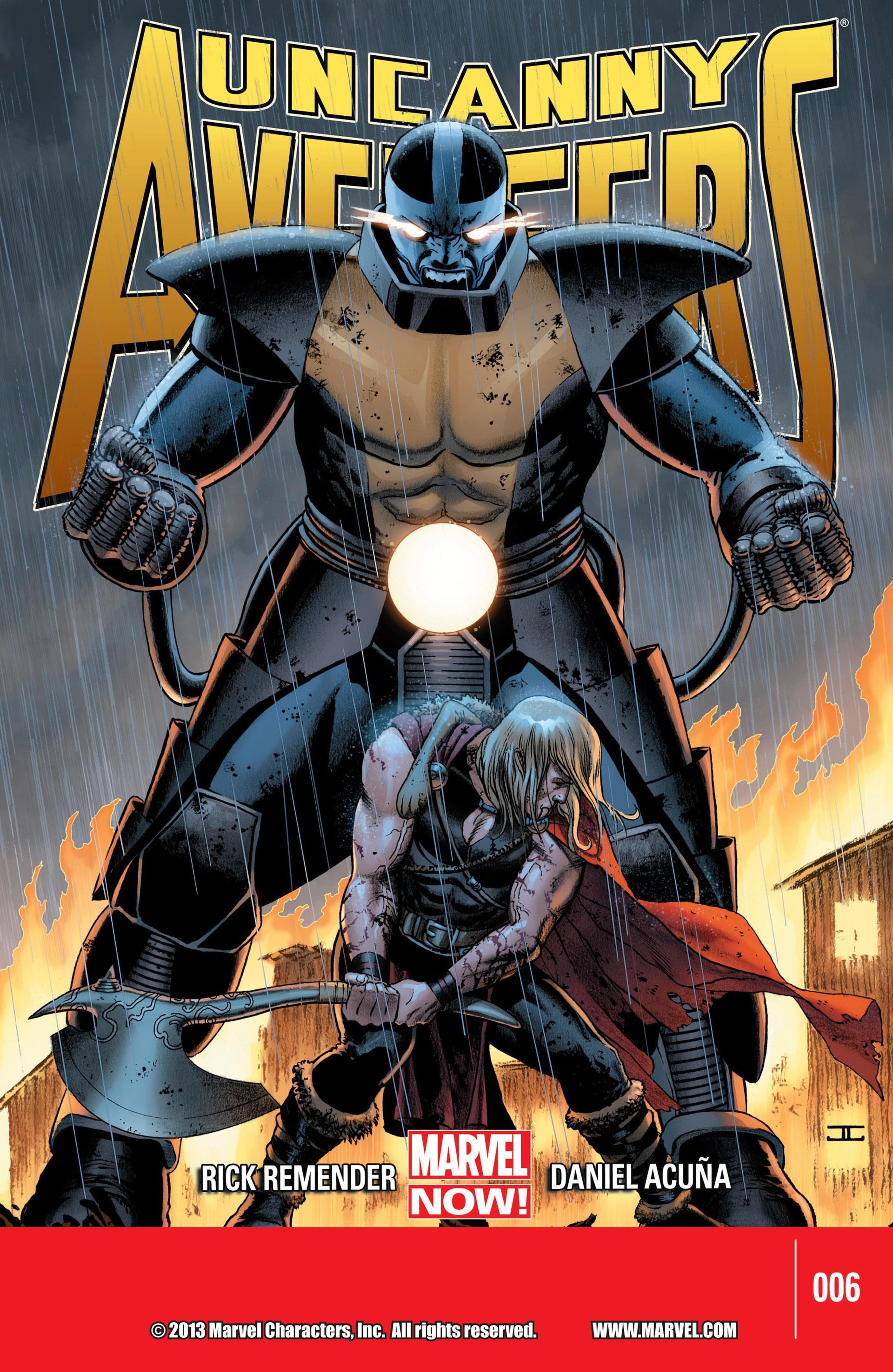Read online Uncanny Avengers (2012) comic -  Issue #6 - 1
