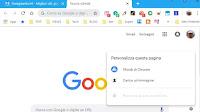 Cambia interfaccia grafica e sfondo nuova scheda in Chrome