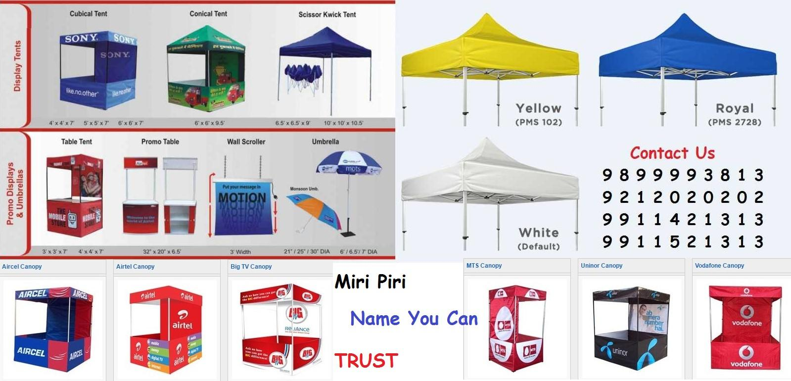 Specializes in Marketing, Advertising, Promotional Tent