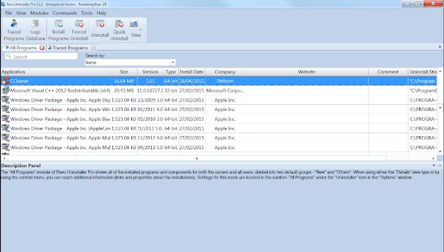 تحميل برنامج حذف البرامج من جذورها عربي مجانا Revo Uninstaller Pro