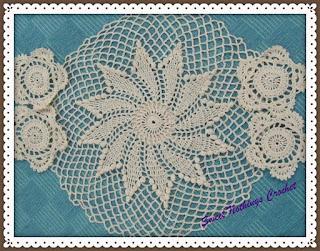 free crochet doily pattern, free lace doily pattern