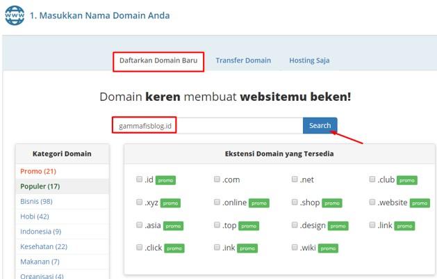 Cara Membeli Domain dan Hosting Murah Di Rumahweb Dengan Metode Pembayaran Alfamart