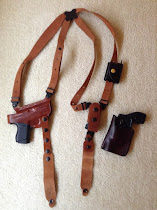 Galco Classic Light Shoulder Holster for Glock 43