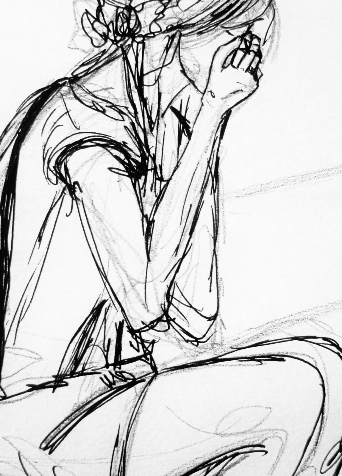 It's just a graphic of Satisfactory Drawing Of Someone Crying