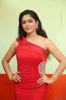 Actress Zahida Sam Latest Stills in Red Long Dress at Badragiri Movie Opening .COM 0001.JPG
