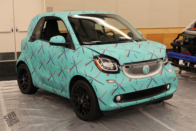 2016 Smart Fortwo with PDX Carpet wrap