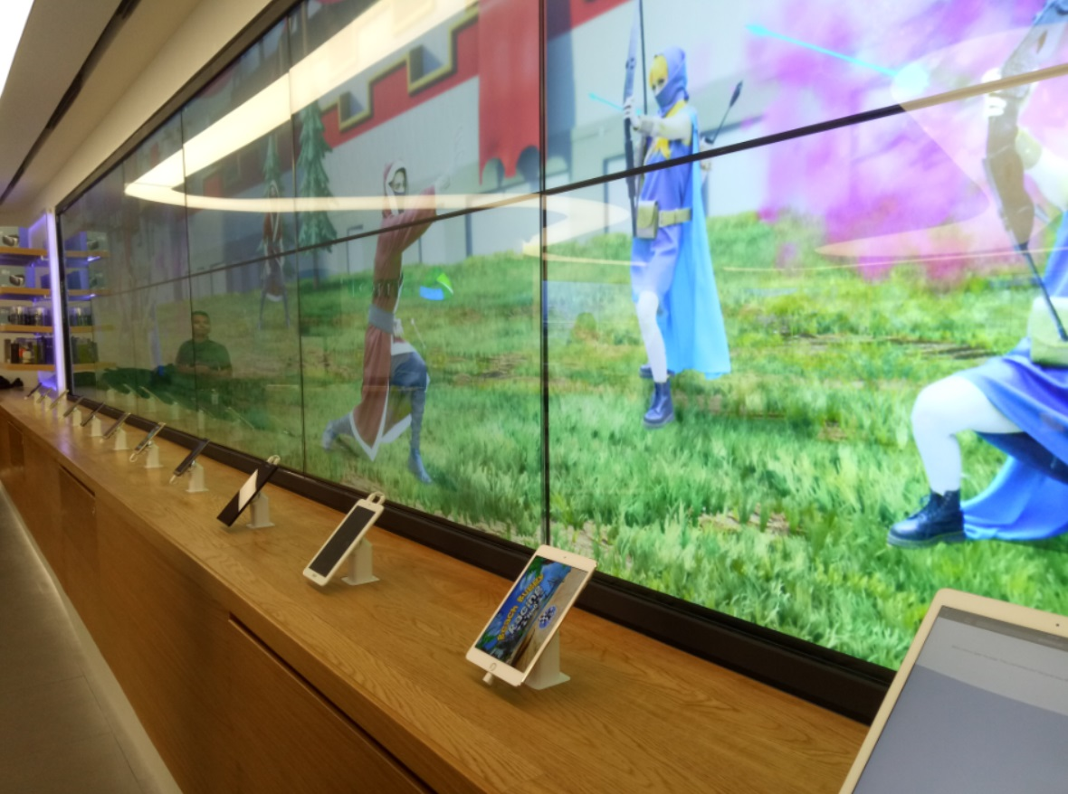 Smart Flagship Store Interactive Wall