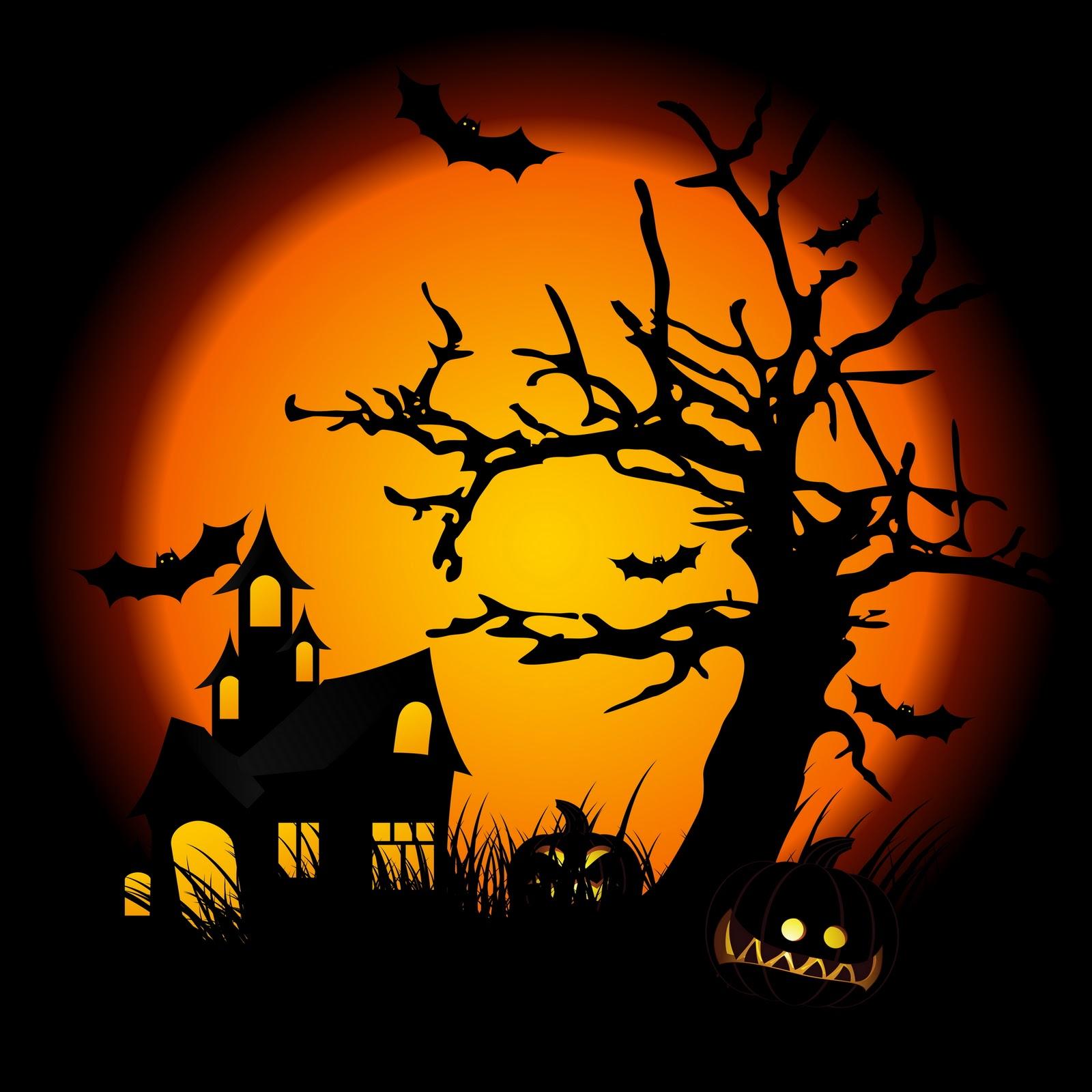 halloween scene clipart - photo #24