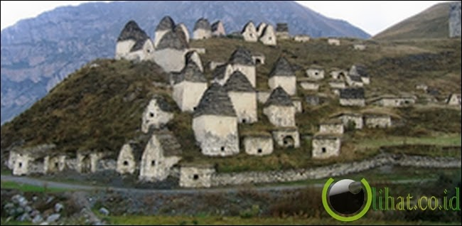 Kota Mati di Ossetia Utara, Rusia