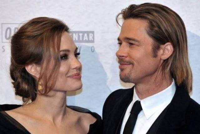 """مفاجأة.. رغم وضعها الصحي الخطير """"براد بيت"""" يهدد """"انجلينا جولي"""" بالطلاق والسبب غريب !"""