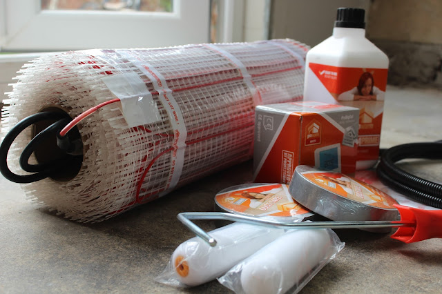 cheap electric underfloor heating kit from pro warm