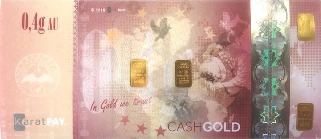 CashGold Karatbars