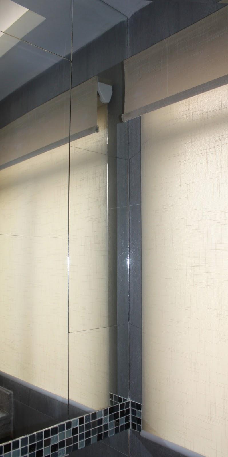 Espejos con luz colocaci n de azulejos y plafones para for Diseno de interiores minimalista espacios pequenos